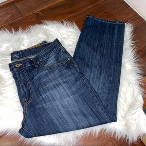 Lucky Brand 221 Original Straight Jeans Size 36